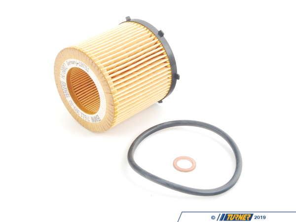 T#21690 - 11427634292 - Oil Filter Kit - N20 N55 Engines - E84 X1, E89 Z4, F10 528iX/535i, F25 X3, F30 320iX/328iX/335i - Genuine BMW - BMW