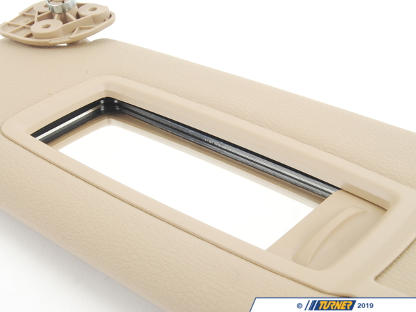 T#84304 - 51167278577 - Genuine BMW Left Sun Visor Make-up Lamp - 51167278577 - Savannabeige - Genuine BMW -