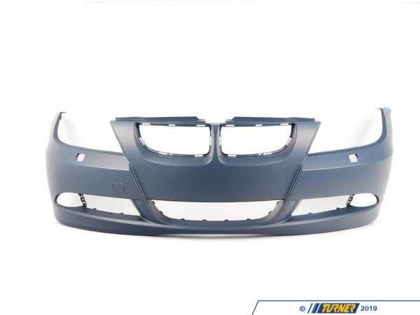 T#76342 - 51117170052 - Genuine BMW Trim Cover, Bumper, Primered, Front - 51117170052 - E90 - Genuine BMW -