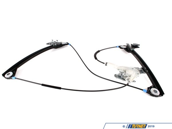 T#3226 - 51338229105 - Window Regulator - Front Left - E46 323ci 325ci 328ci 330ci M3 - Genuine BMW - BMW