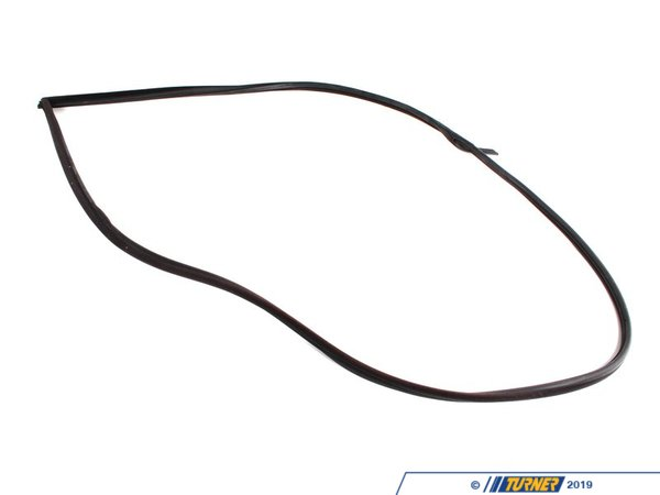 T#10078 - 51712138957 - Left Door Gasket - Black - E36 318is 325is 328is M3 Coupe - Genuine BMW - BMW