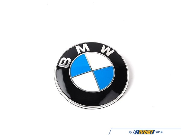 Genuine BMW Genuine BMW Hood and/or Trunk Emblem - Fits Most BMWs 51148132375