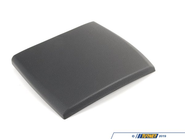 T#13782 - 51169110474 - Genuine BMW Cover Centre Console, Rear Schwarz - 51169110474 - E82 - Genuine BMW -