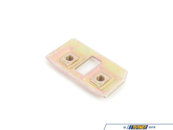 T#8268 - 41351888409 - Genuine BMW Lock Plate - 41351888409 - E30,E34,E30 M3,E34 M5 - Genuine BMW -