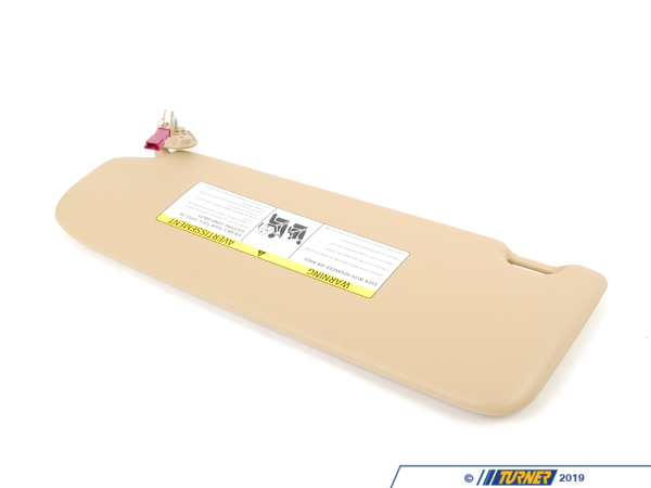 T#84199 - 51167252056 - Genuine BMW Sun Visor With Mirror Right Beige - 51167252056 - E90 - Genuine BMW -