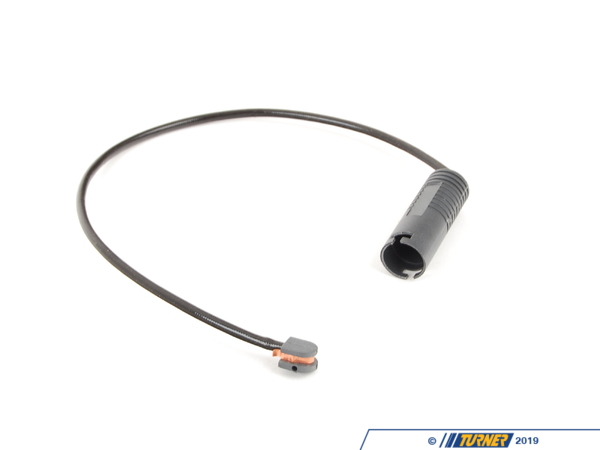 T#5398 - 34351181823 - URO Brake Pad Wear Sensor - Front - E31 840i/ci 850i/ci/csi - We recommend replacing the brake sensor wire each time the brake pads are replaced. These often become brittle and will disintegrate while removing them from the old pads.Only one required for front.This item fits the following BMWs:1990-1999  E31 BMW 840i 840ci 850i 850ci 850csi - URO - BMW