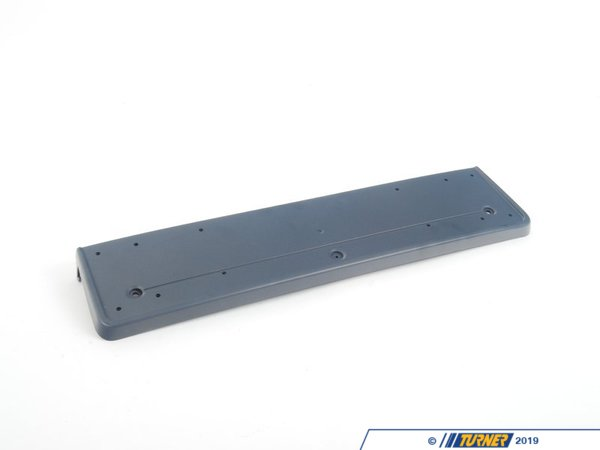 T#23299 - 51112694213 - Genuine BMW Licence Plate Base Primed M - 51112694213 - E39 - Genuine BMW -