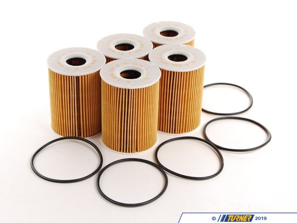 Genuine BMW Genuine BMW Oil Filter Pack Of 5 - Stock Up And SAVE! - E9X M3 S65 11427837997