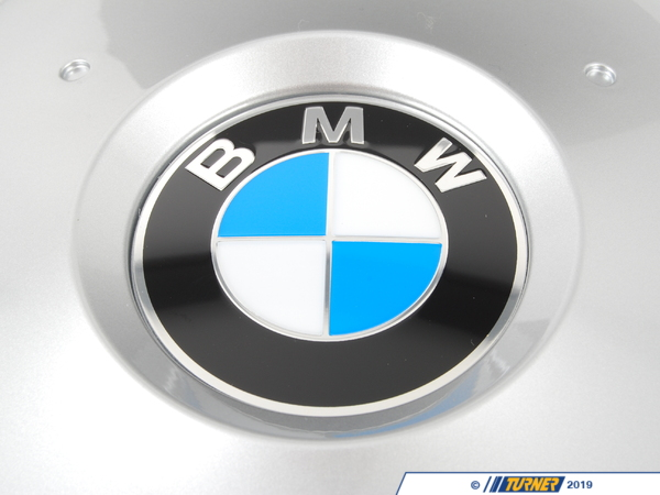 T#178528 - 36137849413 - Genuine BMW Hub Cap, Silver D=173mm - 36137849413 - F01 - Genuine BMW -