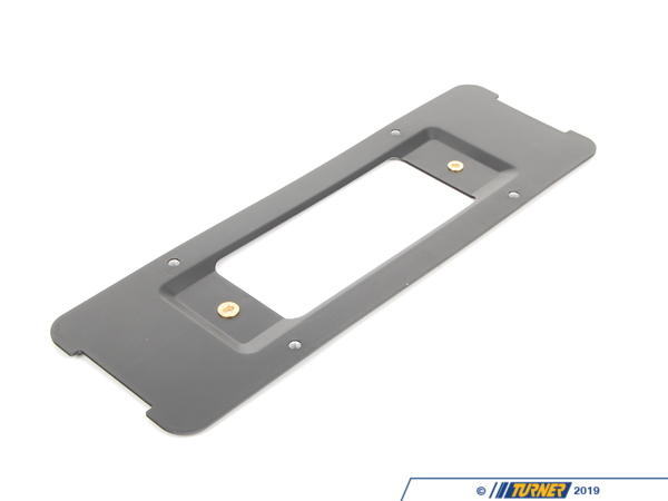 T#80045 - 51137176632 - Genuine BMW Bracket, license Plate Rear - 51137176632 - Genuine BMW -