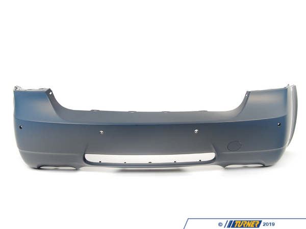 T#78711 - 51127893579 - Genuine BMW Bumper Trim Panel, Primered, Rear M - 51127893579 - E90 - Genuine BMW -