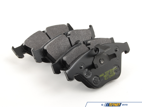 T#2018 - TMS2018 - Hawk HT10 Race Brake Pads - Front - E9X 335, E9X M3 - Hawk - BMW