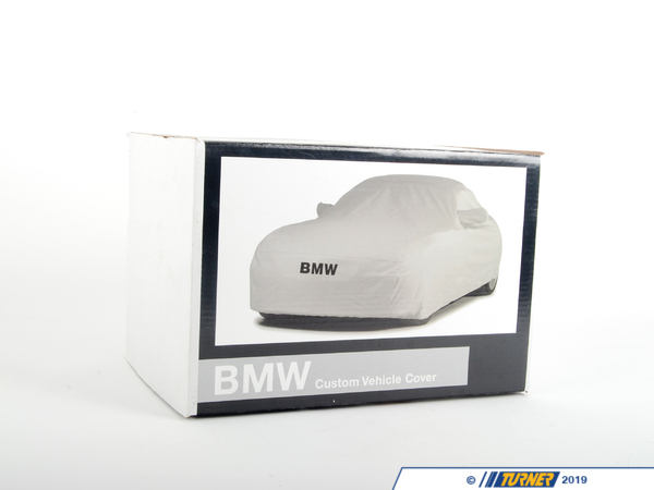 "T#5598 - 82110036863 - Genuine BMW Car Cover - E82 - 128i 135i -  Get a car cover that is custom fit for your BMW, not some generic one size fits all available from other suppliers.  This Genuine BMW car cover is custom fit specifically for the E82 1 series chassis. It features the BMW lettering on the front.   NOAH barrier fabric actually stops water, yet it ""breathes"" to allow any trapped moisture, seam seepage or condensation to easily evaporate.  The unique construction process (patent pending) results in a cover with maximum all-weather protectionhighly water resistant, dust resistant, UV resistant and breathable to make sure moisture and/or heat don't stay under the cover.  Made in the U.S. the fabric weighs only 4.75 oz./sq. yd., so it's easy to handle and fold.Protective Outer Layers - A bi-component spunbond, using sheath-core technology.  The inner core is polypropylene for strength, with a polyethylene wrap for softness.  A silver-gray color was selected because of its heat-resistant properties.  The fabric is also treated with UV inhibitors for extended outdoor use.Micro-Porous Middle Layer - The barrier layer is breathable film, a proprietary stretch-film technology.  The film is stretched and subjected to a chemical process that creates microscopic holes smaller than droplets of water or dust, yet large enough to allow moisture vapor to escape.Soft, Paint-Protecting Inner Layer - A bi-component fabric made with polyethylene and nylon.  This combination results in an exceptionally high strength-to-weight ratio, with the ""soft touch"" necessary for today's water-based paint finishes.This car cover fits the following BMWs:2008+  E82 BMW 128i 135i - Genuine BMW - BMW"