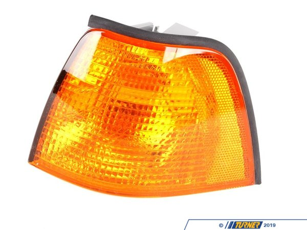 T#10882 - 63138353279 - Left Front Turn Signal - Amber - E36 318i, 325i, 328i M3 - Sedan - Genuine BMW - BMW