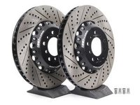 E82 1M, E9X M3 ECS 2-Piece Front Brake Rotors - Pair (360x30)