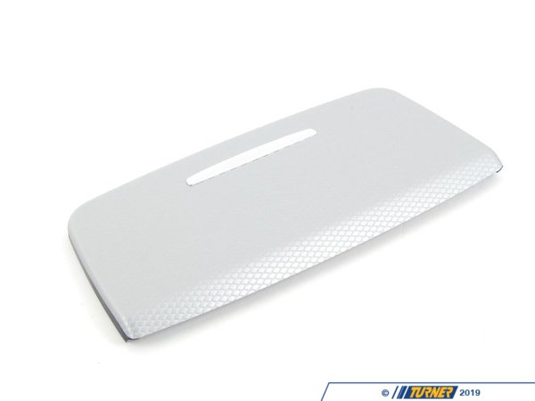 T#87030 - 51169145153 - Genuine BMW Cover, Ashtray/tray Alu Glac - 51169145153 - Genuine BMW -