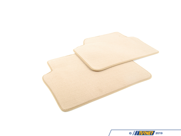T#112333 - 51477316573 - Genuine BMW Set Of Floor Mats Velours Beige - 51477316573 - E90 - Genuine BMW -