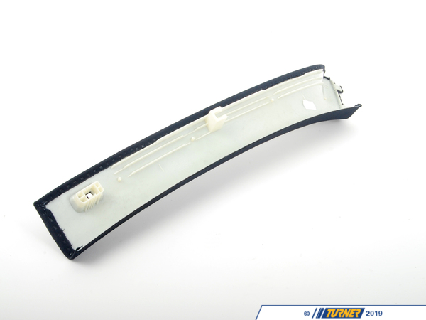 T#104306 - 51438036252 - Genuine BMW Right Column A Cover Anthrazit - 51438036252 - E90 - Genuine BMW -