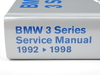 T#4153 - B398 - Bentley Service & Repair Manual - E36 BMW 3-series (1992-1998) - Bentley - BMW