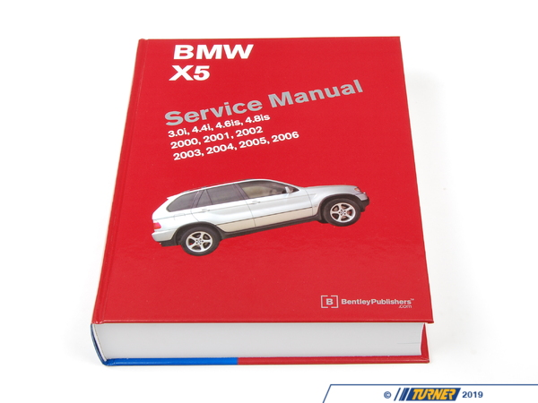 T#1578 - BX56 - Bentley Service & Repair Manual - E53 X5 BMW   (2000-2006) - Bentley - BMW