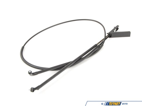 T#90832 - 51237184456 - Genuine BMW Bowden Cable, Hood Mechanism - 51237184456 - E70,E71 - Genuine BMW -