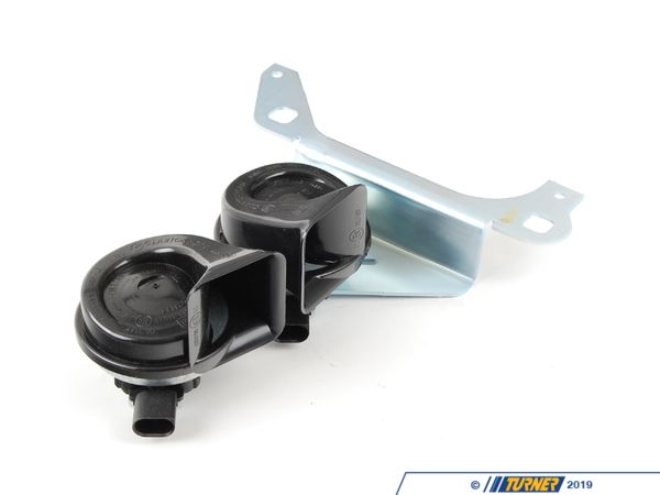 T#143851 - 61337192551 - Genuine BMW Bracket With Air Horns - 61337192551 - E82,E82 1M Coupe - Genuine BMW -