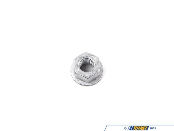 T#28828 - 07129904862 - Genuine BMW Hex Nut With Plate - 07129904862 - Genuine BMW -