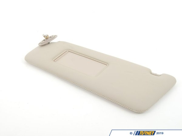 T#85881 - 51168198025 - Genuine BMW Sun Visor With Mirror-coveri - 51168198025 - Genuine BMW -