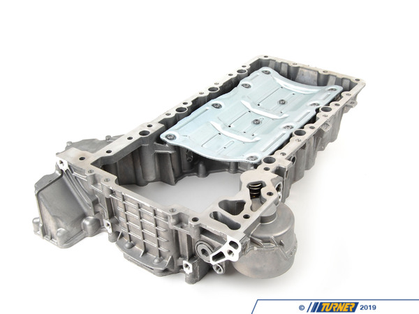 T#31834 - 11137621070 - Genuine BMW Oil Pan Upper Part - 11137621070 - Genuine BMW -