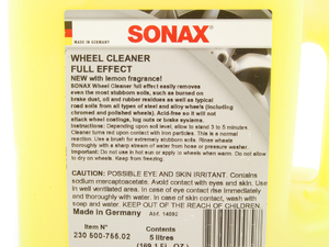 SONAX Wheel Cleaner Full Effect 5 Liter Refill