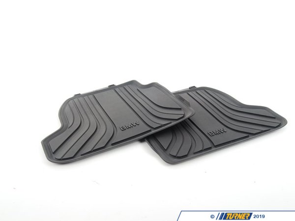 51472297420 Genuine Bmw Floor Mats All Weather Rear