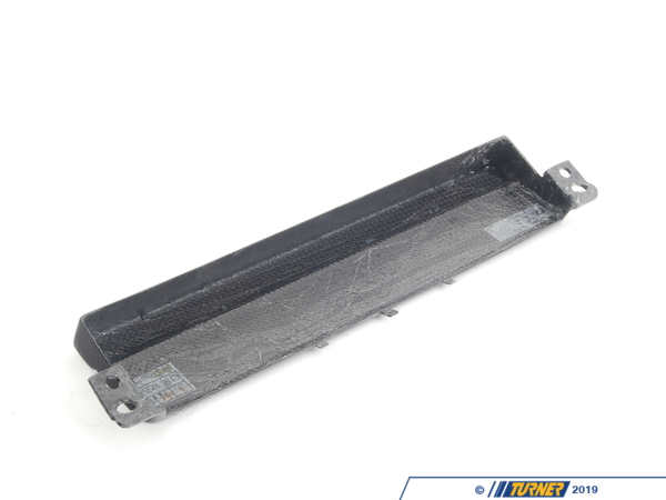 Genuine European BMW CSL Carbon Fiber Radio Block-off Face Plate - E46 65107896770