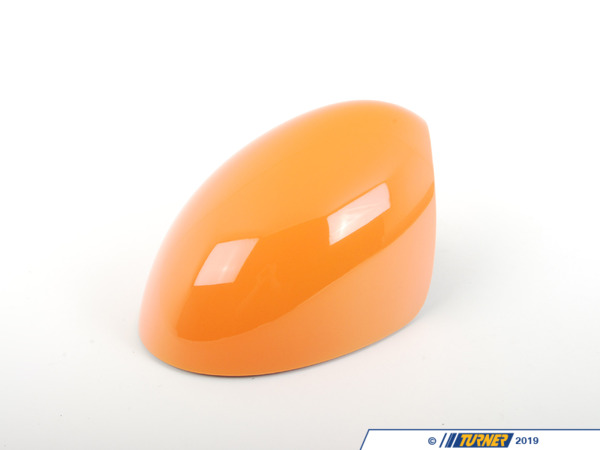 T#82004 - 51162162750 - Genuine MINI Cover, Mirror, Right Orange - 51162162750 - Genuine Mini -