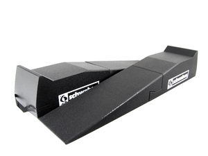 "Schwaben 2-Pc 67"" Low Profile Car Ramp With Low Profile Ramp Extensions"