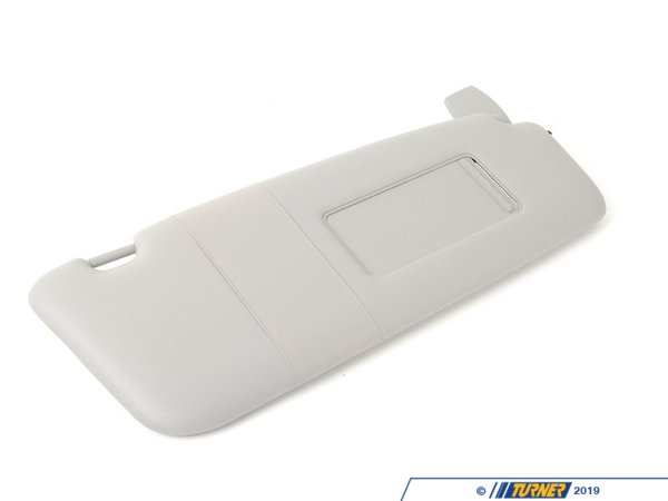 T#83547 - 51167122868 - Genuine BMW Sun Visor/mirror Illuminated - 51167122868 - Himmelgrau - Genuine BMW -