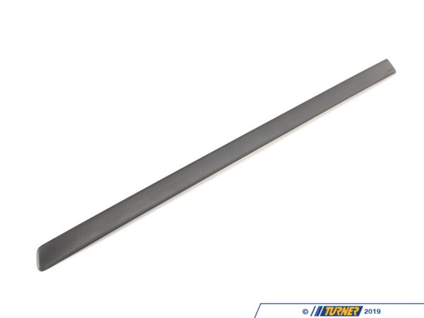 T#80014 - 51137158535 - Genuine BMW Moulding Door Rear Left Schwarz - 51137158535 - E70 X5 - Genuine BMW -