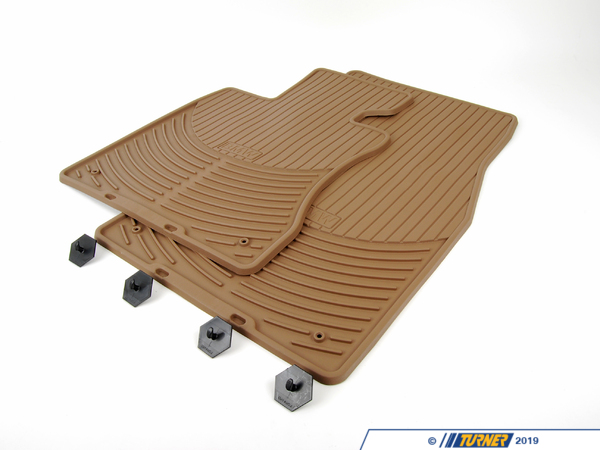 T#14241 - 82550302998 - Genuine BMW Accessories Rubber Floor Mats 82550302998 - GENUINE BMW RUBBER FLOOR MATS:519016 - Genuine BMW -