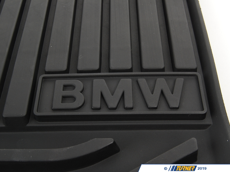 Heavy Duty Floor Mats >> 514721537251X - Genuine BMW All Weather Rubber Floor Mats ...