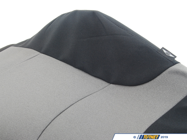 T#123365 - 52107072953 - Genuine MINI Cloth Cover Sport Backrest L - 52107072953 - Genuine MINI -