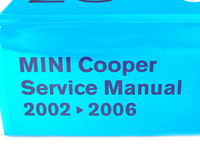 Bentley Service & Repair Manual - MINI Cooper & Cooper S (2002-2006)