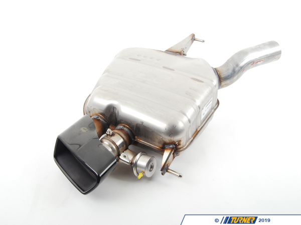 T#48569 - 18307629137 - Genuine BMW Rear Muffler, Left, With Exh - 18307629137 - Genuine BMW -