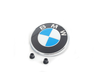 E93 Convertible Rear Trunk Emblem With Grommets (BMW Roundel)