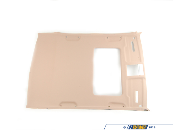 T#106390 - 51448214834 - Genuine BMW Molded Headlining F Slid. Li - 51448214834 - Sandbeige - Genuine BMW -