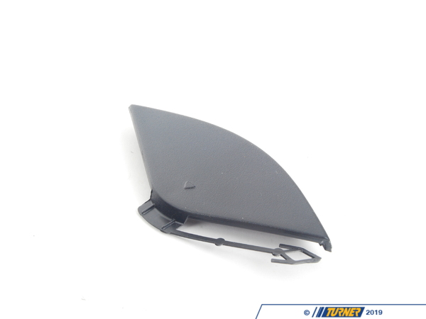T#76600 - 51117222744 - Genuine BMW Cover, Towing Eye Front Schwarz - 51117222744 - Genuine BMW -