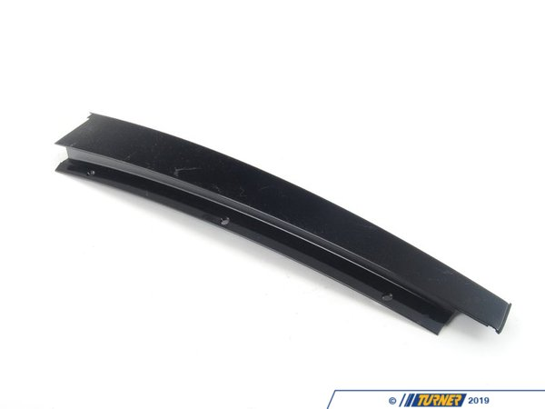 T#93741 - 51347890090 - Genuine BMW Molding, Column B Rear Right - 51347890090 - Gloss Black - Genuine BMW -