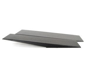 "2-Pc 56"" Low Profile Car Ramp With Low Profile Ramp Extensions"
