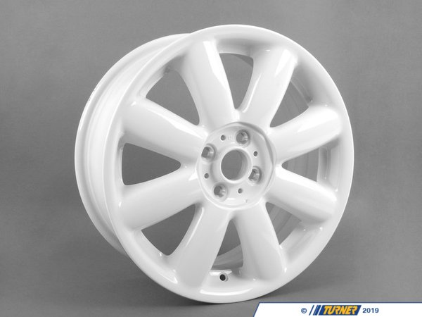 T#66351 - 36116769412 - Genuine MINI Light Alloy Rim, White 7Jx17 Et:48 - 36116769412 - Genuine MINI -