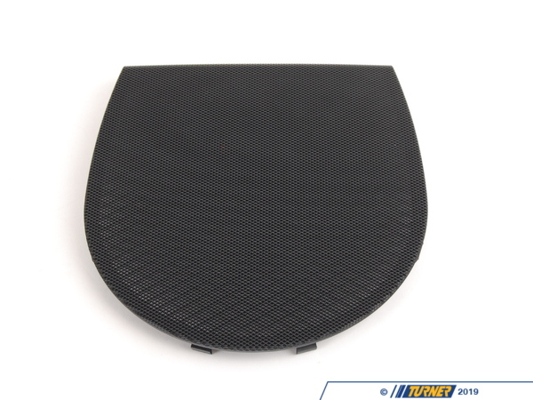 T#109689 - 51468213971 - Genuine BMW Cover Loudspeaker Schwarz - 51468213971 - E46 - Genuine BMW -