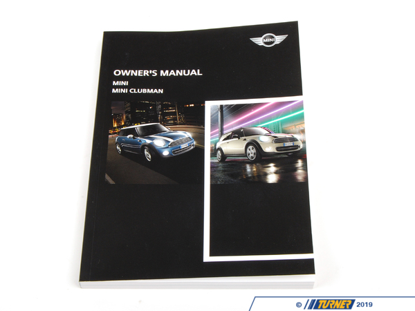 T#26298 - 01402903964 - Genuine MINI Owner's Manual For R55, R56 - 01402903964 - Genuine MINI -