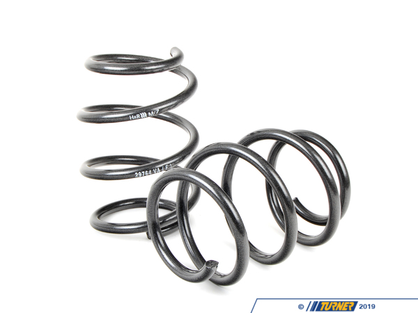 "T#3699 - 29764 - H&R Sport Spring Set - E39 540i - Front Lowering -1.30"" Rear Lowering  -0.75""Enhance the look of your BMW E39 540i with a reduced fender well gap. H&R Sport Springs lower the vehicle center of gravity and reduce body roll for better handling. The progressive spring rate design provides superb ride quality and comfort. A lower wind resistance signature will make the vehicle more streamlined and improve gas mileage. If you are only looking to improve one part of your vehicles suspension, you cannot go wrong with installing Sport Springs. Fun to drive, H&R Sport Springs are the number one upgrade for your vehicle.We recommend installing Bilstein Sport shocks with these lowering springs.This item fits the following BMWs:1997-2003  E39 BMW 540i without the factory Sport suspension; not for Touring  - H&R - BMW"